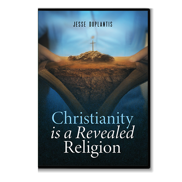 Christianity Is a Revealed Religion