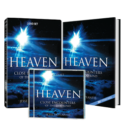 Heaven: Close Encounters of the God Kind (Book, DVD, & CD)