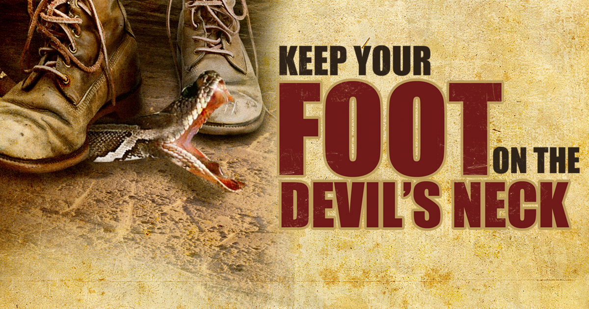 Jesse Duplantis Ministries - Keep Your Foot on the Devil's Neck